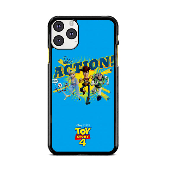 Toy Story 4 Action Takin Blue iPhone 11 Pro Case | Frostedcase