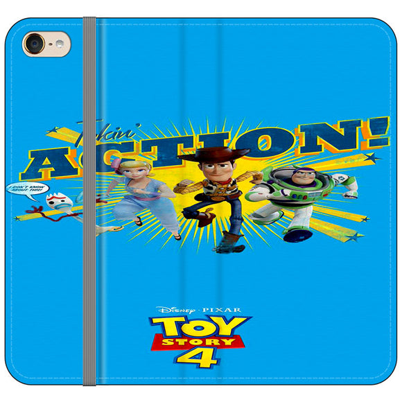 Toy Story 4 Action Takin Blue iPod 6 Flip Case | Frostedcase