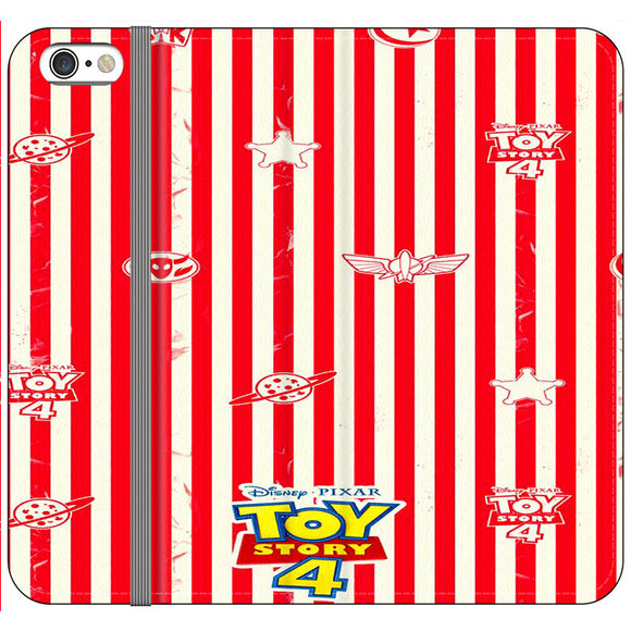 Toy Story 4 Blaster Red White iPhone 6|6S Flip Case | Frostedcase