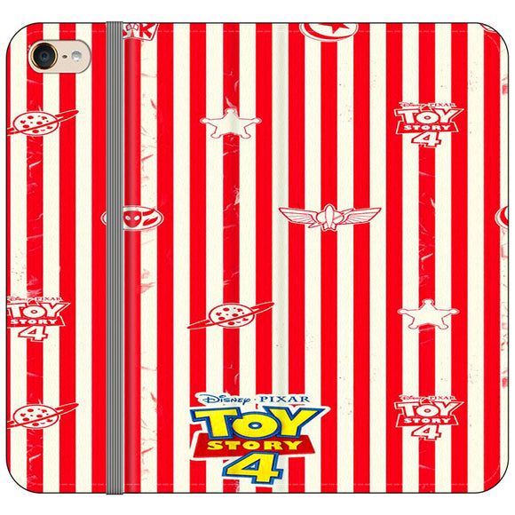 Toy Story 4 Blaster Red White iPod 6 Flip Case | Frostedcase