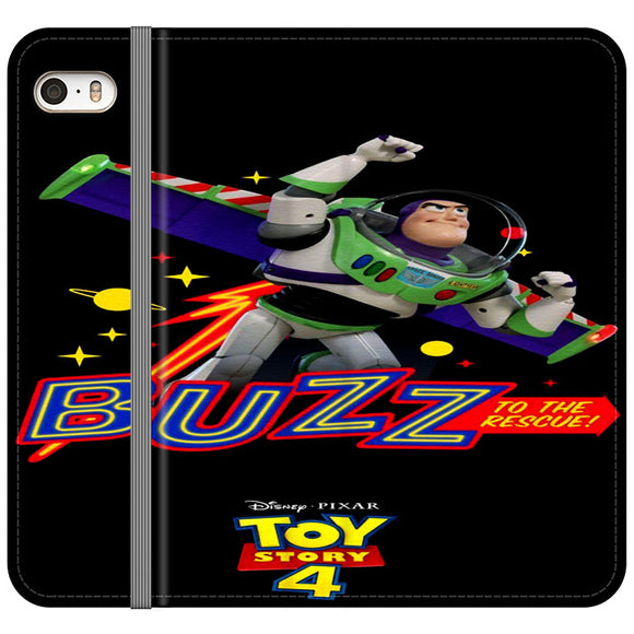 Toy Story 4 Buzz To The Rescue iPhone 5|5S|SE Flip Case | Frostedcase