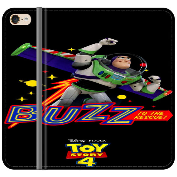 Toy Story 4 Buzz To The Rescue iPod 6 Flip Case | Frostedcase
