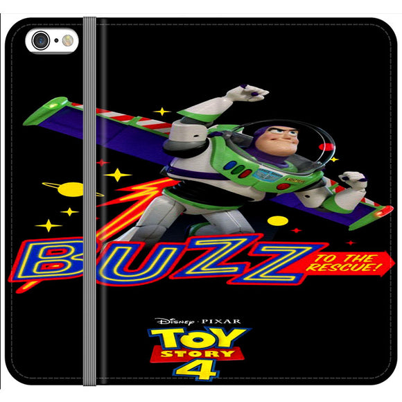 Toy Story 4 Buzz To The Rescue iPhone 6 Plus|6S Plus Flip Case | Frostedcase