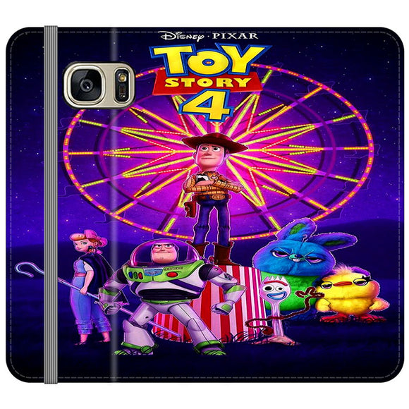 Toy Story 4 Poster Samsung Galaxy S7 Flip Case | Frostedcase