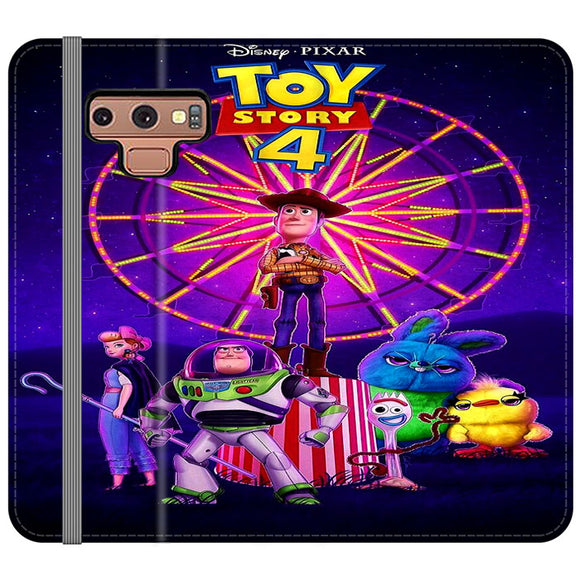 Toy Story 4 Poster Samsung Galaxy Note 9 Flip Case | Frostedcase
