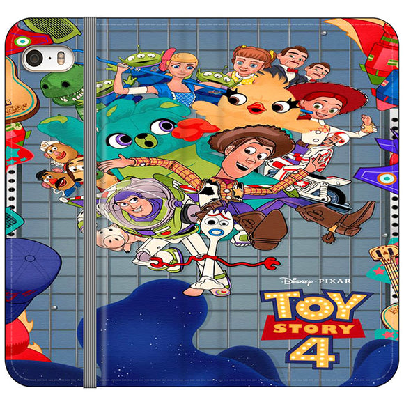 Toy Story 4 Poster Cartoon iPhone 5|5S|SE Flip Case | Frostedcase