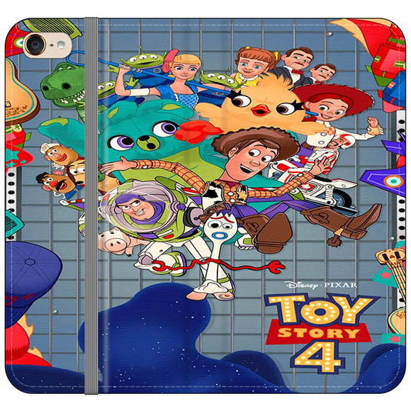 Toy Story 4 Poster Cartoon iPod 6 Flip Case | Frostedcase