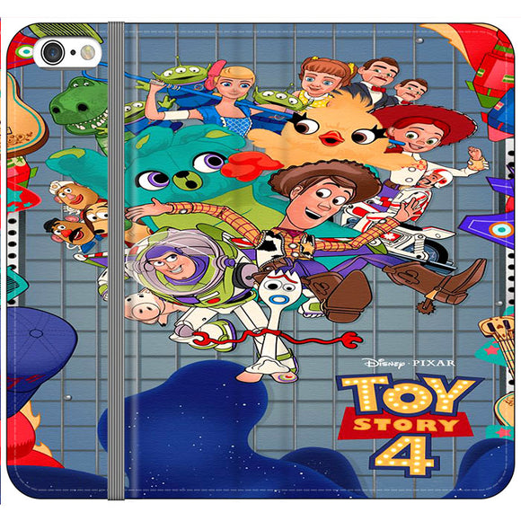 Toy Story 4 Poster Cartoon iPhone 6 Plus|6S Plus Flip Case | Frostedcase