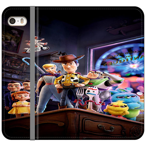 Toy Story 4 Poster In Action iPhone 5|5S|SE Flip Case | Frostedcase