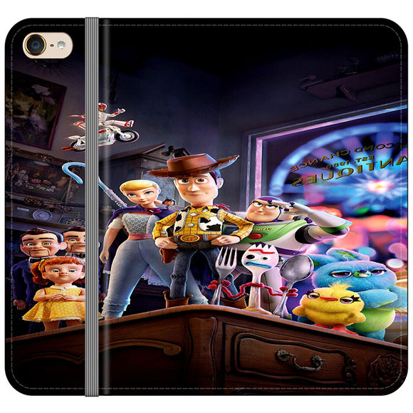 Toy Story 4 Poster In Action iPod 6 Flip Case | Frostedcase