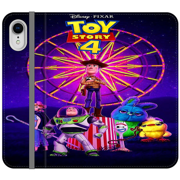 Toy Story 4 Poster iPhone XR Flip Case | Frostedcase