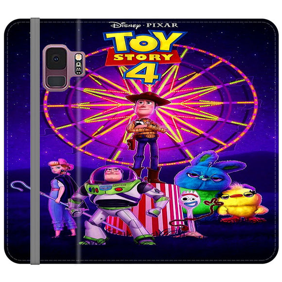 Toy Story 4 Poster Samsung Galaxy S9 Flip Case | Frostedcase