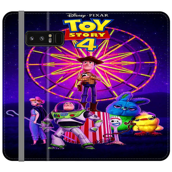 Toy Story 4 Poster Samsung Galaxy Note 8 Flip Case | Frostedcase