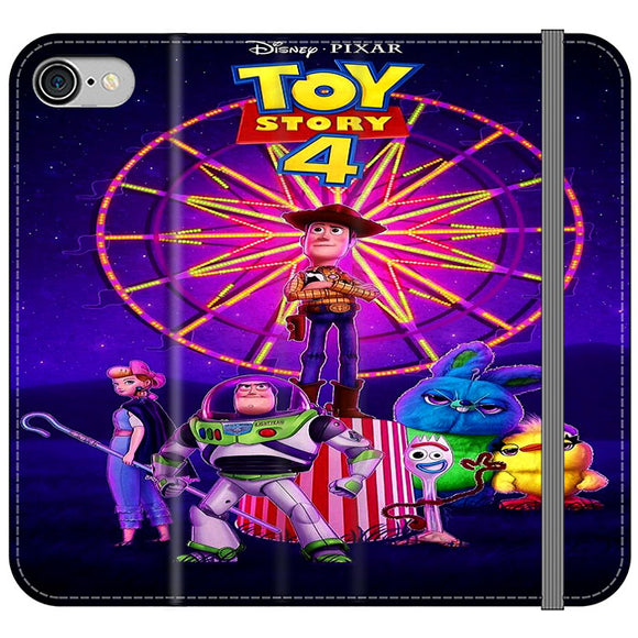 Toy Story 4 Poster iPhone 8 Flip Case | Frostedcase