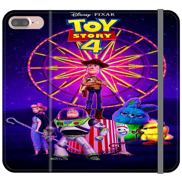 Toy Story 4 Poster iPhone 8 Plus Flip Case | Frostedcase