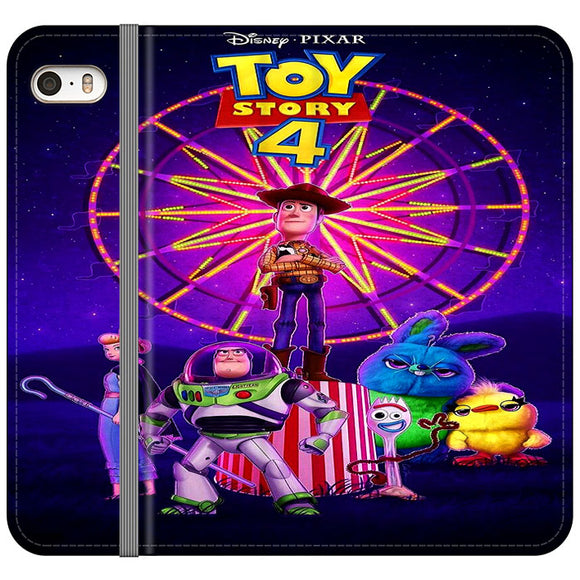 Toy Story 4 Poster iPhone 5|5S|SE Flip Case | Frostedcase