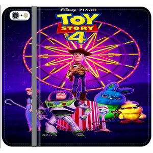 Toy Story 4 Poster iPhone 6 Plus|6S Plus Flip Case | Frostedcase