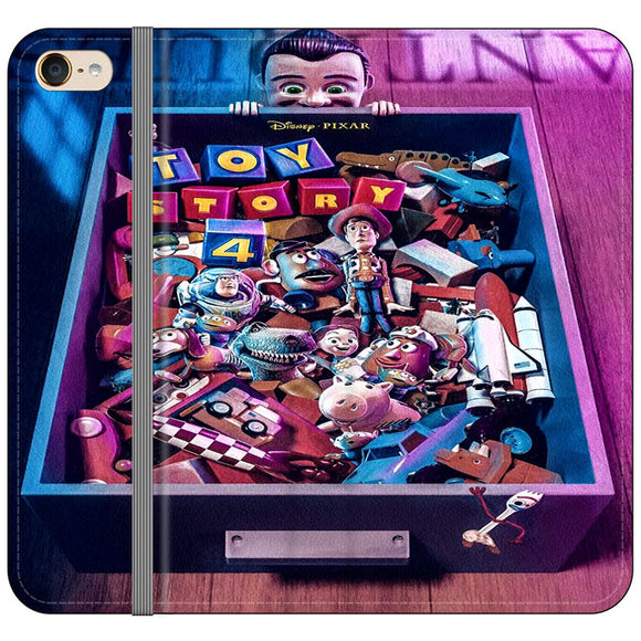 Toy Story 4 In The Antiques Item Box iPod 6 Flip Case | Frostedcase