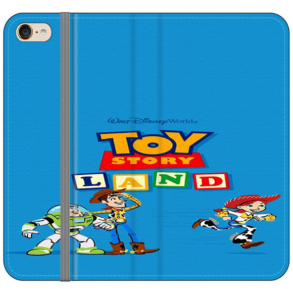 Toy Story Land Woody And Friends iPod 6 Flip Case | Frostedcase