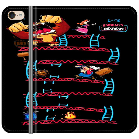 Triple King Kong Animation Game iPod 6 Flip Case | Frostedcase