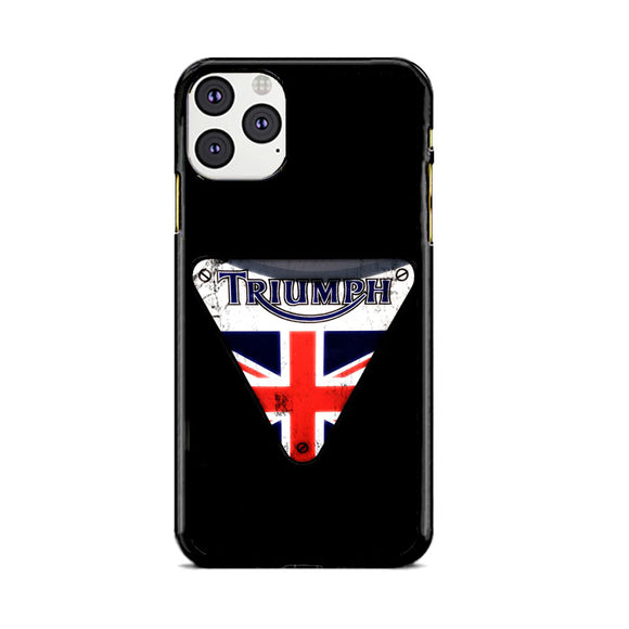 Triumph Motorcycles England iPhone 11 Pro Case | Frostedcase
