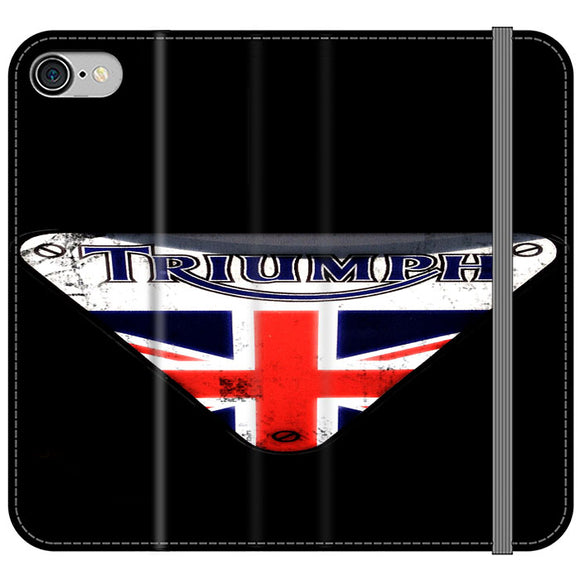 Triumph Motorcycles England iPhone 7 Flip Case | Frostedcase