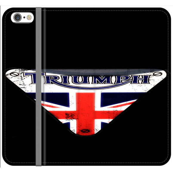 Triumph Motorcycles England iPhone 6 Plus|6S Plus Flip Case | Frostedcase