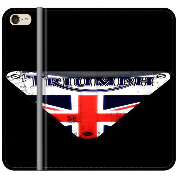 Triumph Motorcycles England iPod 5 Flip Case | Frostedcase