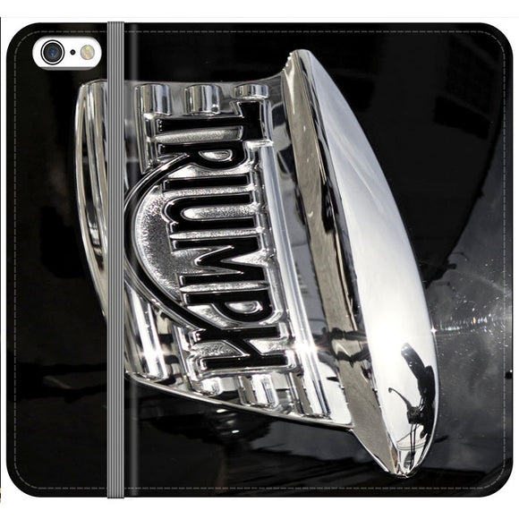 Triumph Motorcycles Logan Emblem iPhone 6 Plus|6S Plus Flip Case | Frostedcase