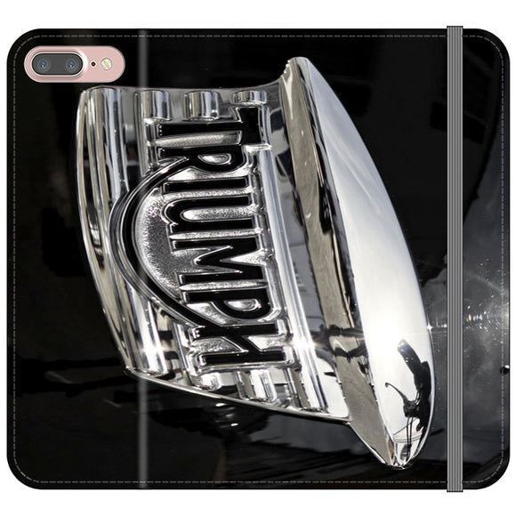 Triumph Motorcycles Logan Emblem iPhone 7 Plus Flip Case | Frostedcase