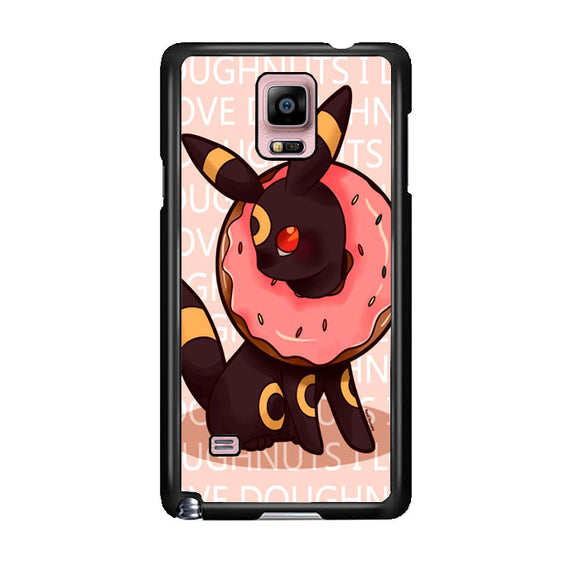 Umbreon Pokemon Donuts Doodle Samsung Galaxy Note 4 Case | Frostedcase
