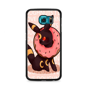 Umbreon Pokemon Donuts Doodle Samsung Galaxy S6 Case | Frostedcase