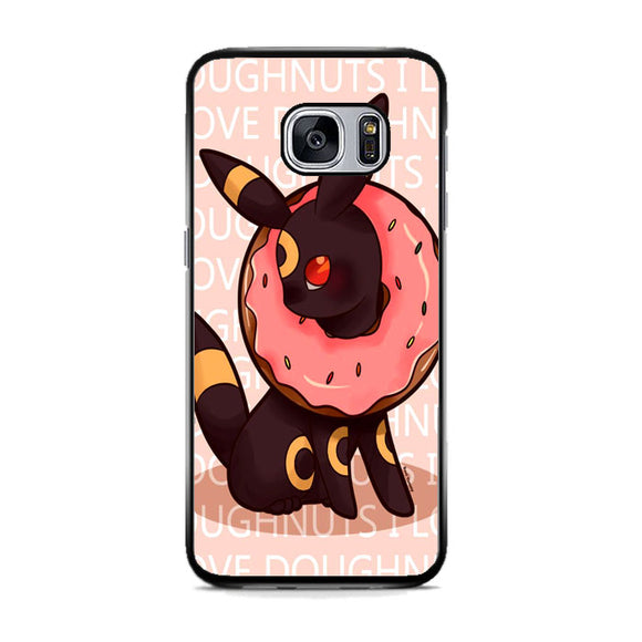 Umbreon Pokemon Donuts Doodle Samsung Galaxy S7 Case | Frostedcase