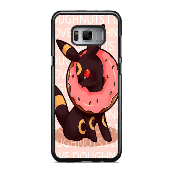 Umbreon Pokemon Donuts Doodle Samsung Galaxy S8 Case | Frostedcase