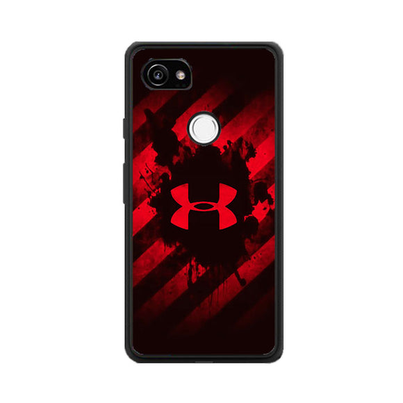 Under Armor Red Paint Google Pixel 2 Case | Frostedcase