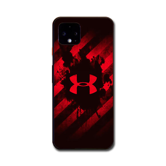 Under Armor Red Paint Google Pixel 4 XL Case | Frostedcase