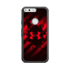 Under Armor Red Paint Google Pixel Case | Frostedcase