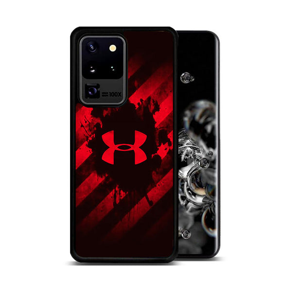 Under Armor Red Paint Samsung Galaxy S20 Ultra Case | Frostedcase