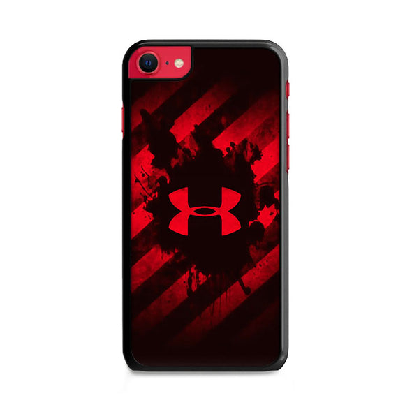 Under Armor Red Paint iPhone SE Case | Frostedcase