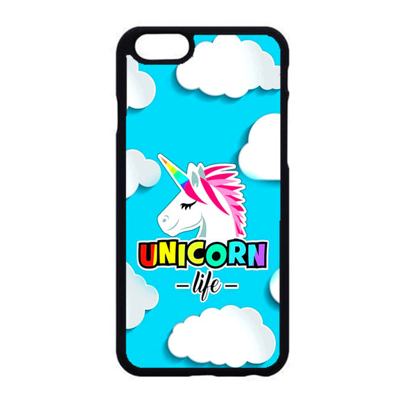 Unicorn Life Rainbow And Cloud iPhone 6|6S Case | Frostedcase