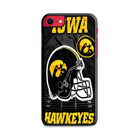 University Of Iowa Hawkeyes Black iPhone SE Case | Frostedcase