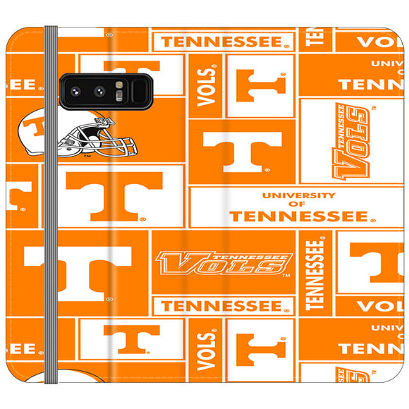 University Of Tennessee Helmet Samsung Galaxy Note 8 Flip Case | Frostedcase