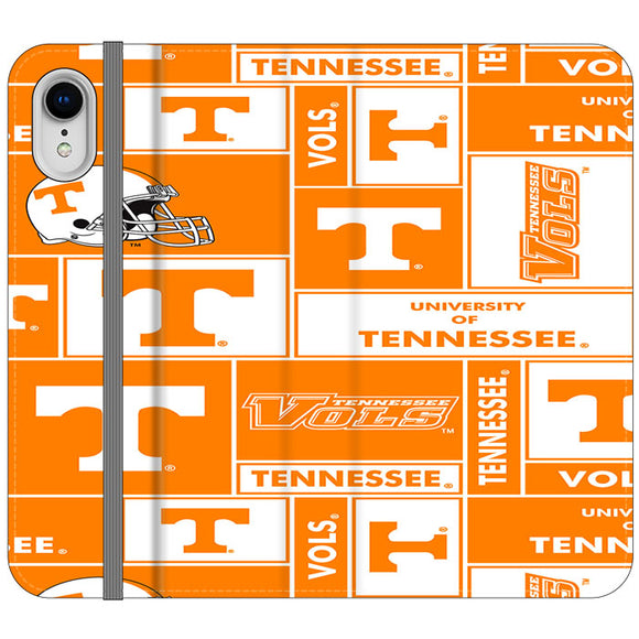 University Of Tennessee Helmet iPhone XR Flip Case | Frostedcase