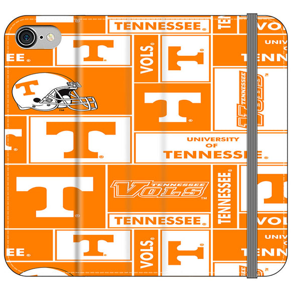 University Of Tennessee Helmet iPhone 8 Flip Case | Frostedcase