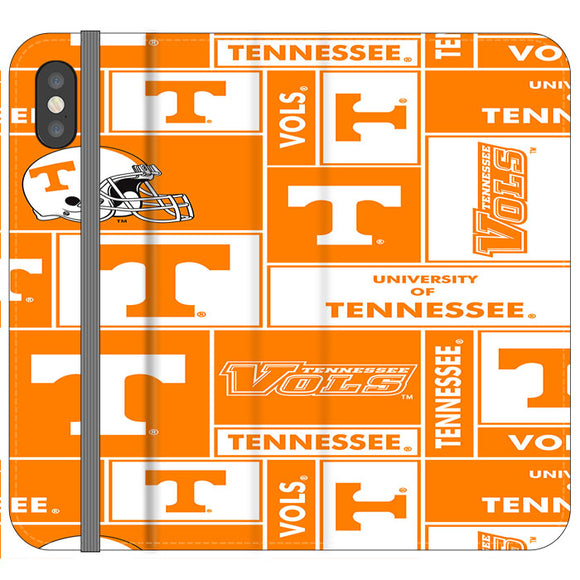 University Of Tennessee Helmet iPhone X Flip Case | Frostedcase