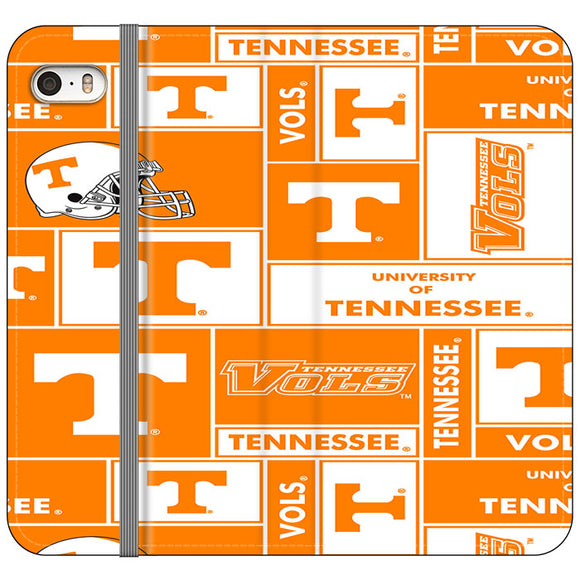 University Of Tennessee Helmet iPhone 5|5S|SE Flip Case | Frostedcase