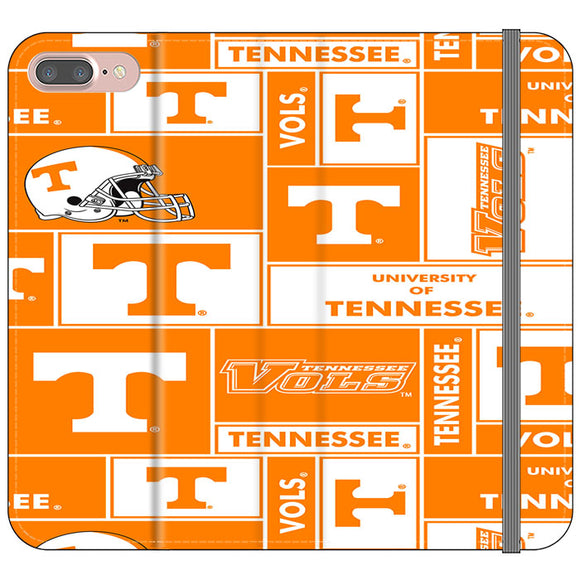 University Of Tennessee Helmet iPhone 8 Plus Flip Case | Frostedcase