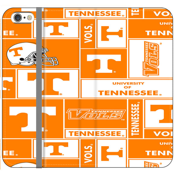 University Of Tennessee Helmet iPhone 6 Plus|6S Plus Flip Case | Frostedcase
