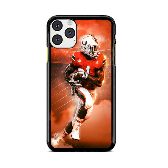 University Of Miami Football iPhone 11 Pro Case | Frostedcase