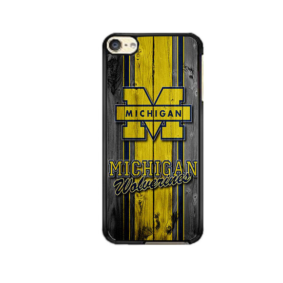 University Of Michigan Wolverines Football Team Wooden iPod 6 Case | Frostedcase